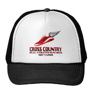 Cross Country Running Trucker Hat