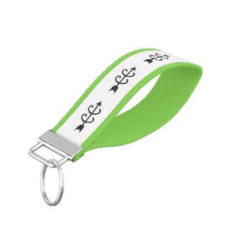 Cross Country Running Wrist Keychain