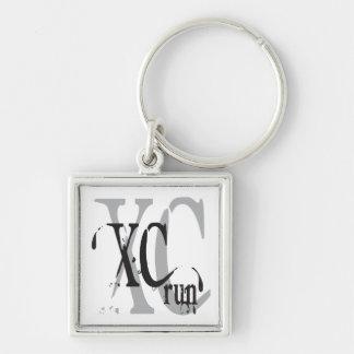Cross Country Running XC Keychain