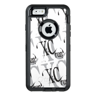Cross Country Running XC OtterBox Defender iPhone Case