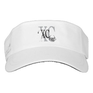 Cross Country Running XC Runner Gift Visor