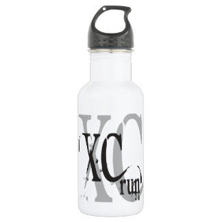 Cross Country Running XC Stainless Steel Water Bottle