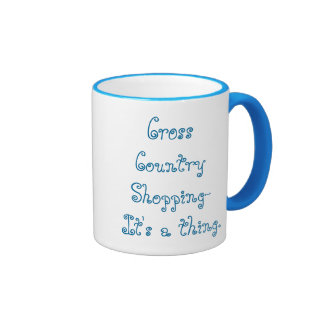 Cross Country Shopping Mug