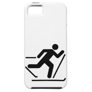 Cross Country Ski Symbol iPhone 5 Case