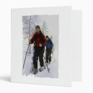 Cross Country Skiers Binder