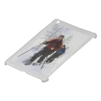 Cross Country Skiers iPad Mini Case