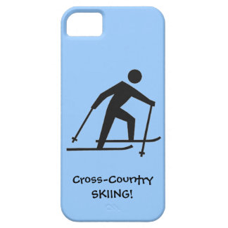 Cross-Country Skiing Design iPhone Casemate iPhone SE/5/5s Case
