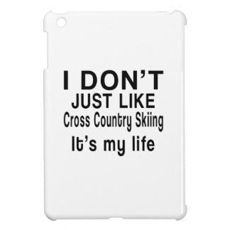 Cross Country Skiing IS MY LIFE Cover For The iPad Mini