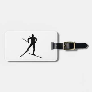 Cross country skiing tags for luggage