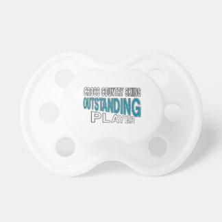 CROSS COUNTRY SKIING OUTSTANDING PLAYER PACIFIER