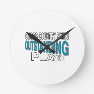 CROSS COUNTRY SKIING OUTSTANDING PLAYER ROUND CLOCK