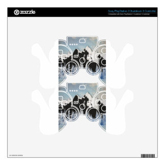 Cross Country Skiing Skin For PS3 Controller