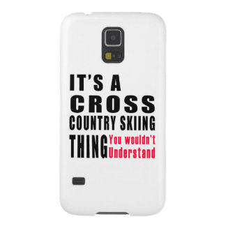 Cross Country Skiing Thing Designs Cases For Galaxy S5