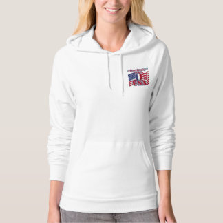 Cross Country Skiing USA Hoodie