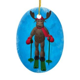 Skiing Reindeer