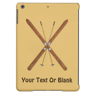 Cross-Country Skis And Poles Case For iPad Air