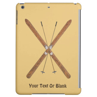 Cross-Country Skis And Poles iPad Air Cases