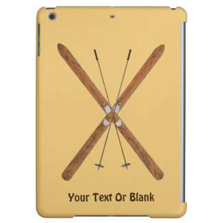 Cross-Country Skis And Poles iPad Air Case