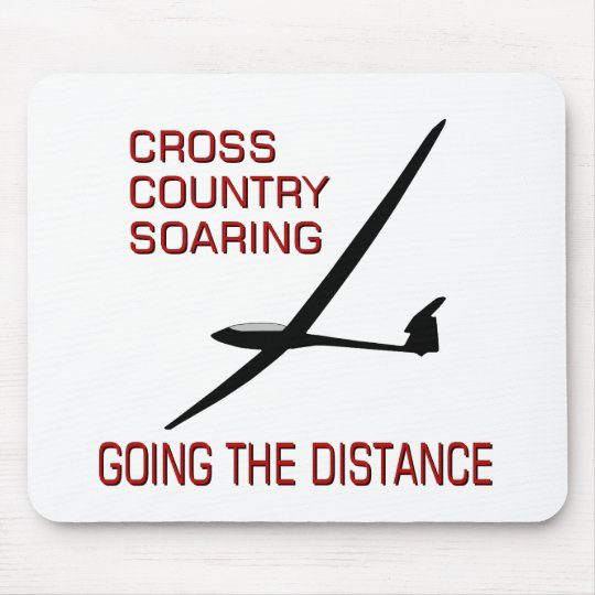 Cross Country Soaring ... Going the Distance Mouse Pad