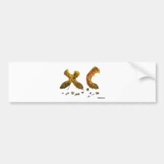 Cross Country Spikes Bumper Sticker