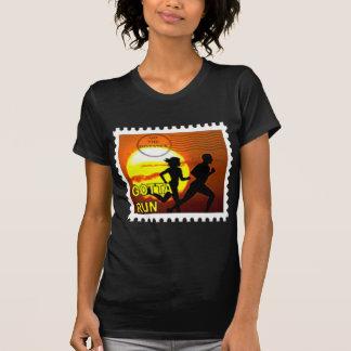 CROSS COUNTRY STAMP MOTTO - GOTTA RUN! T-Shirt