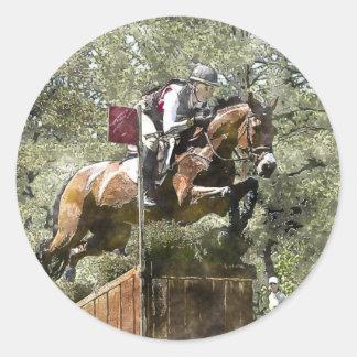 Cross Country Classic Round Sticker