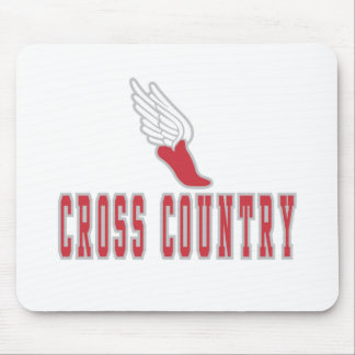 Cross Country T-shirts and Gifts. Mouse Pad