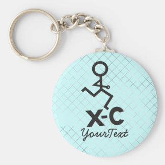 Cross Country - XC Running Keychain