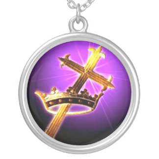 Cross/Crown Necklace