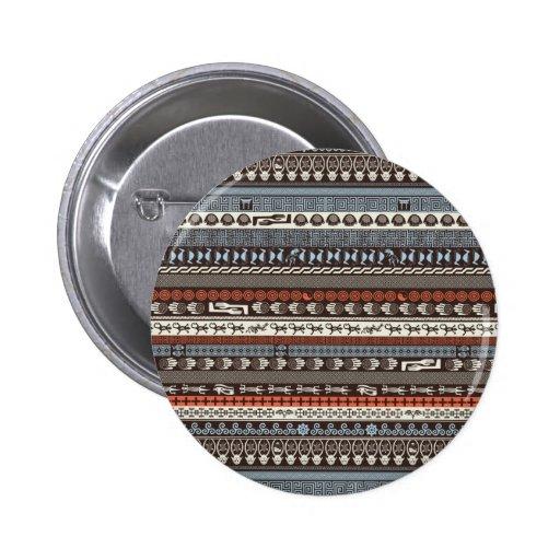 Cross Culture - Multicultural Pattern Pin