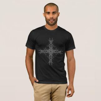 cross dark metal T-Shirt