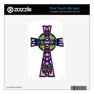 Cross Decal For iPod Touch 4G