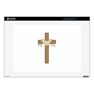 Cross Decal For Laptop