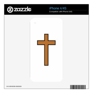 Cross Decals For The iPhone 4S