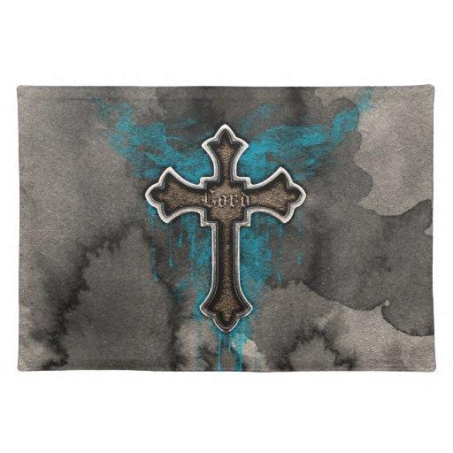 Cross del señor mantel individual