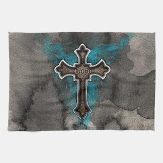 Cross del señor toalla de mano