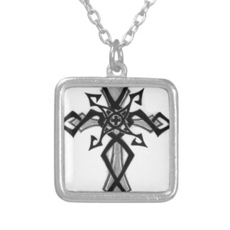 Cross Design Personalized Necklace