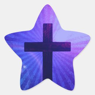 Cross Design  Stickers