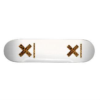 cross desk skateboard deck