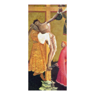Cross Detail By Meister Des Berswordt-Altars Best Custom Rack Cards