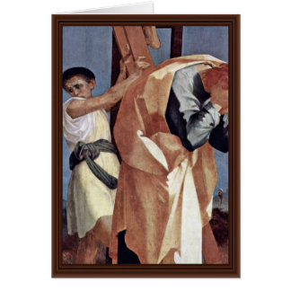 Cross Detail By Rosso Fiorentino (Best Quality) Greeting Card