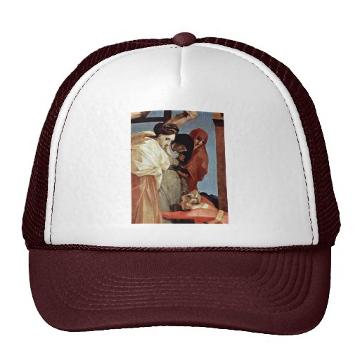 Cross Detail By Rosso Fiorentino (Best Quality) Mesh Hat