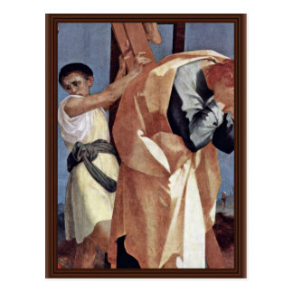 Cross Detail By Rosso Fiorentino (Best Quality) Postcard