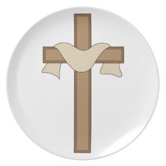 Cross Dinner Plate