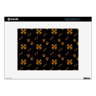 Cross Dog bones and Paw prints Skin For Netbook