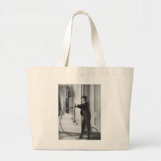 Cross-Dressed Cyclist, 1890 Tote Bag