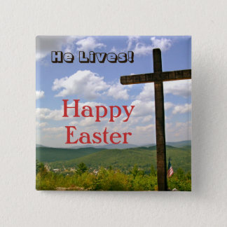 Cross Easter Pin