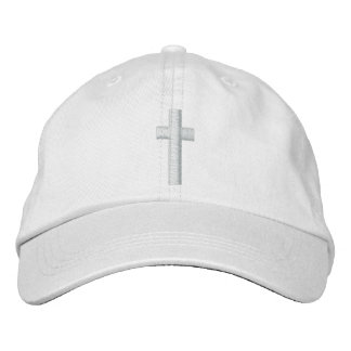 Cross Embroidered Baseball Hat