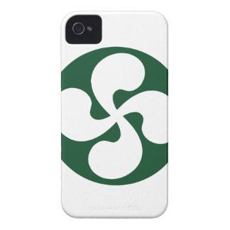 Cross extruded Basque iPhone 4 Case-Mate Case