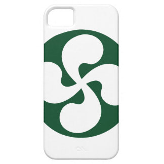 Cross extruded Basque iPhone SE/5/5s Case